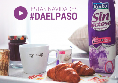 WEB  | Marketing directo | KAIKU SIN LACTOSA > E-Mailing + Vídeo