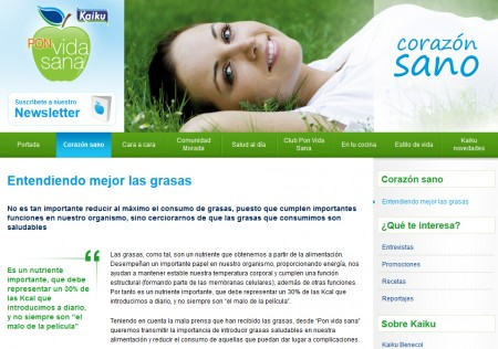 WEB | E-Marketing | KAIKU PVS > Blog y Newsletter