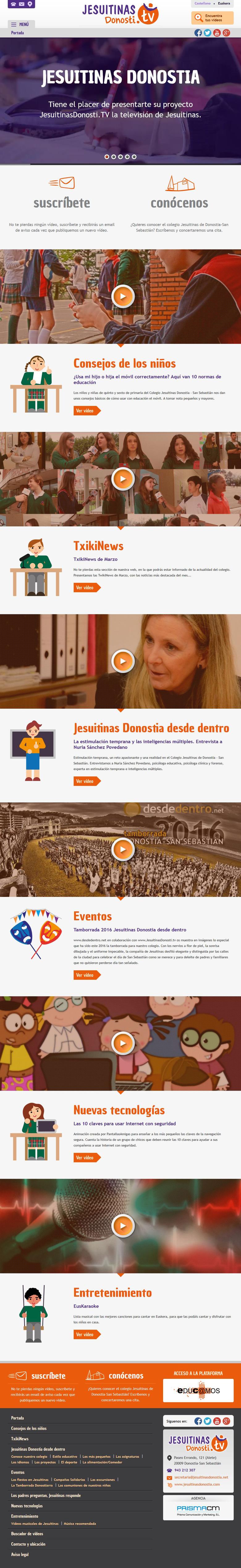 WEB | Jesuitinas Televisión